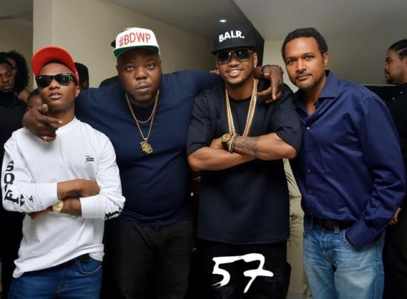 Ent : Trey Songz, Wizkid, Cecil Hammond at Club 57  [ Photos ]