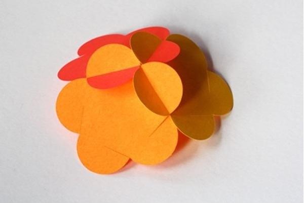 Новогодние оригами для украшения