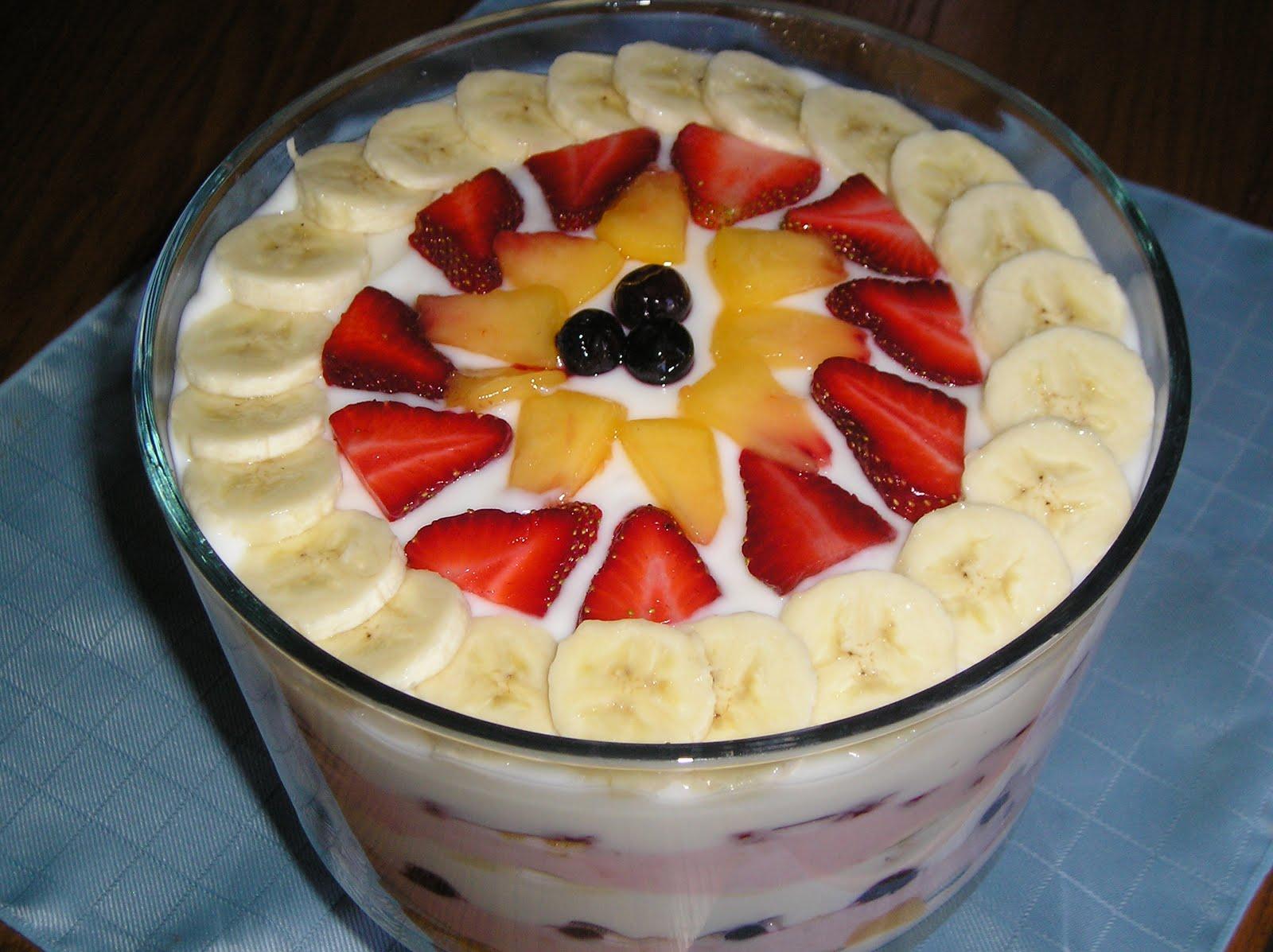Fruit And Yogurt Parfait For A Crowd