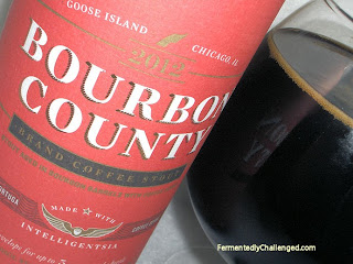 Bourbon County Brand Coffee Stout close-up