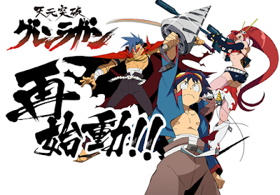 Gurren Lagann: Restart project has been announced to be a re-broadcast of the original TV series