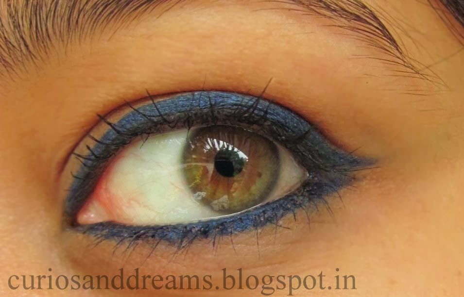 Faces Longwear Eye Pencil Navy Blue Review, Faces Longwear Eye Pencil Navy Blue swatch
