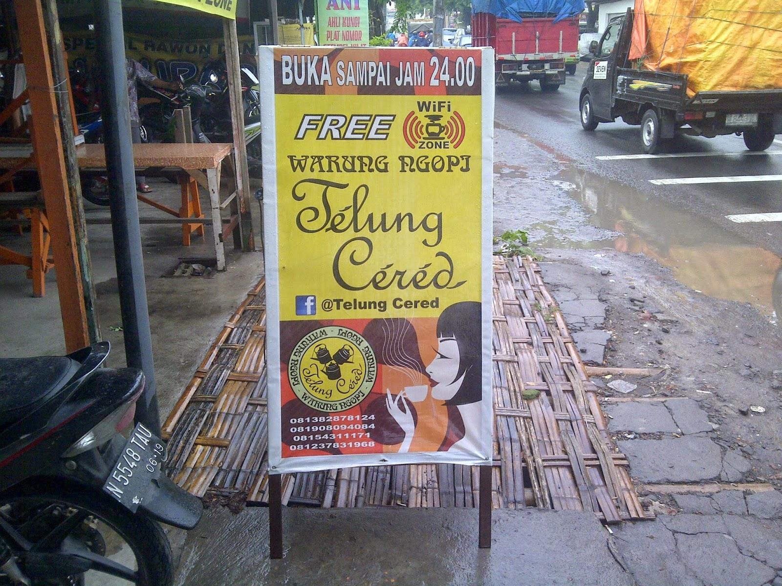 Blognya Setiyo Info Kuliner Warung Kopi Telung Cered Surabaya