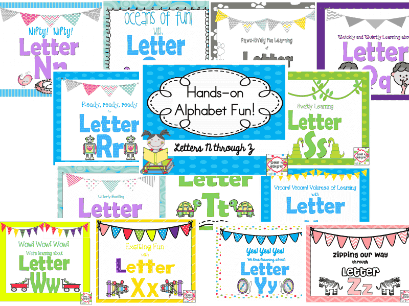 http://www.teacherspayteachers.com/Product/Hands-on-Alphabet-Fun-Letters-N-Z-1310524