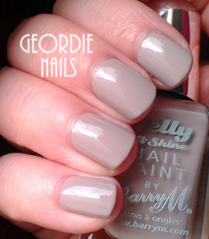 Geordie Nails: Barry M ~ Almond