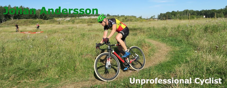 Johan Andersson, Unprofessional Cyclist