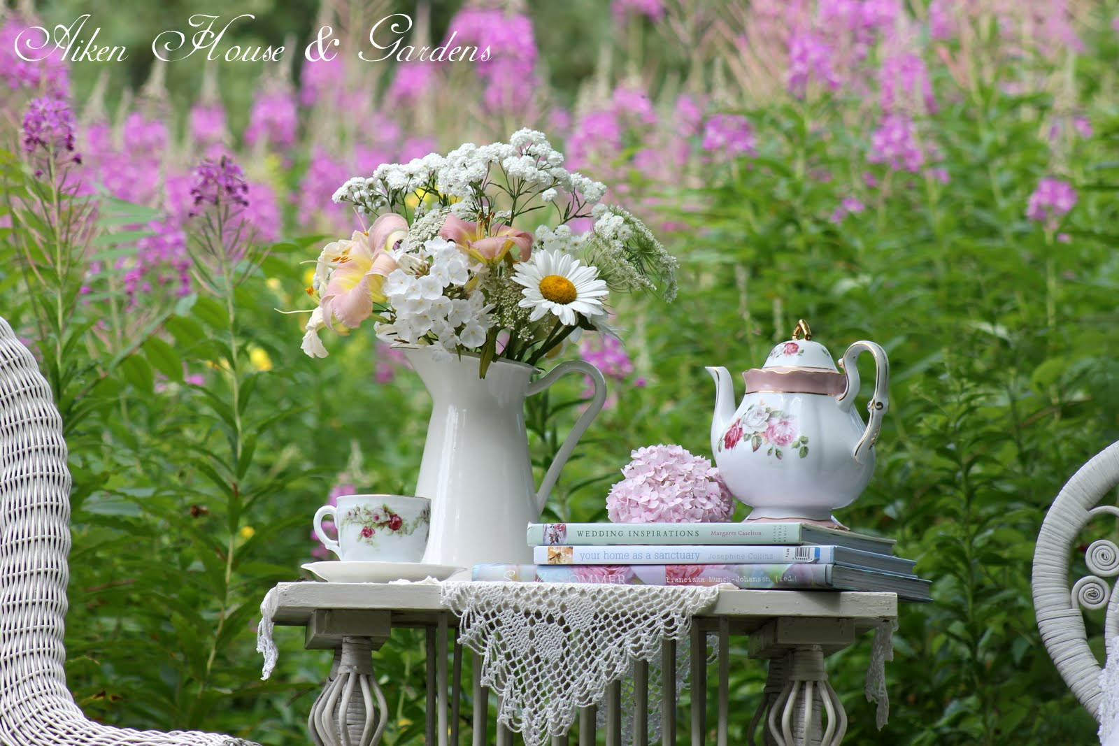 Home improvement ideas victorian garden tea for Victorian garden house