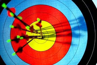 Arrows Around Bulls Eye Target - Source: http://dhhs.ne.gov/children_family_services/Pages/children_family_services_pathways.aspx