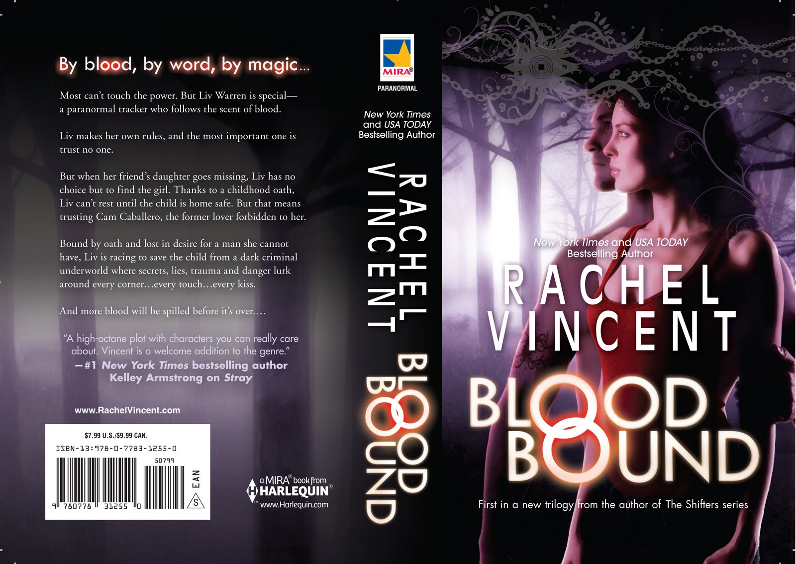 Cover Reveal: Blood Bound by Rachel Vincent