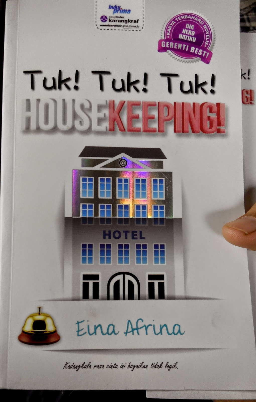 Review Novel: Tuk! Tuk! Tuk! HOUSEKEEPING!