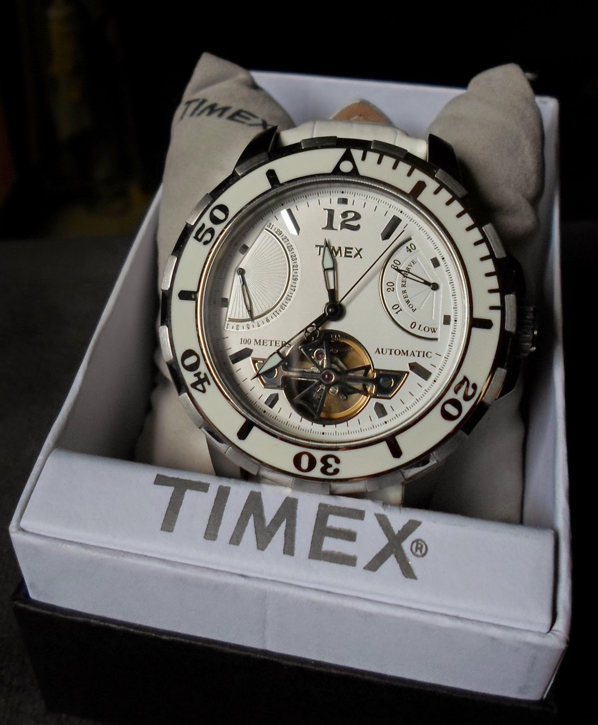 TIMEX AUTOMATIC POWER RESERVE WATCH