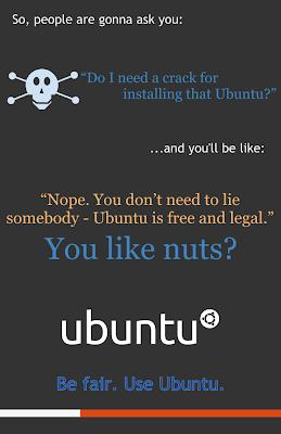 ubuntu lebih fair ketimbang Windows
