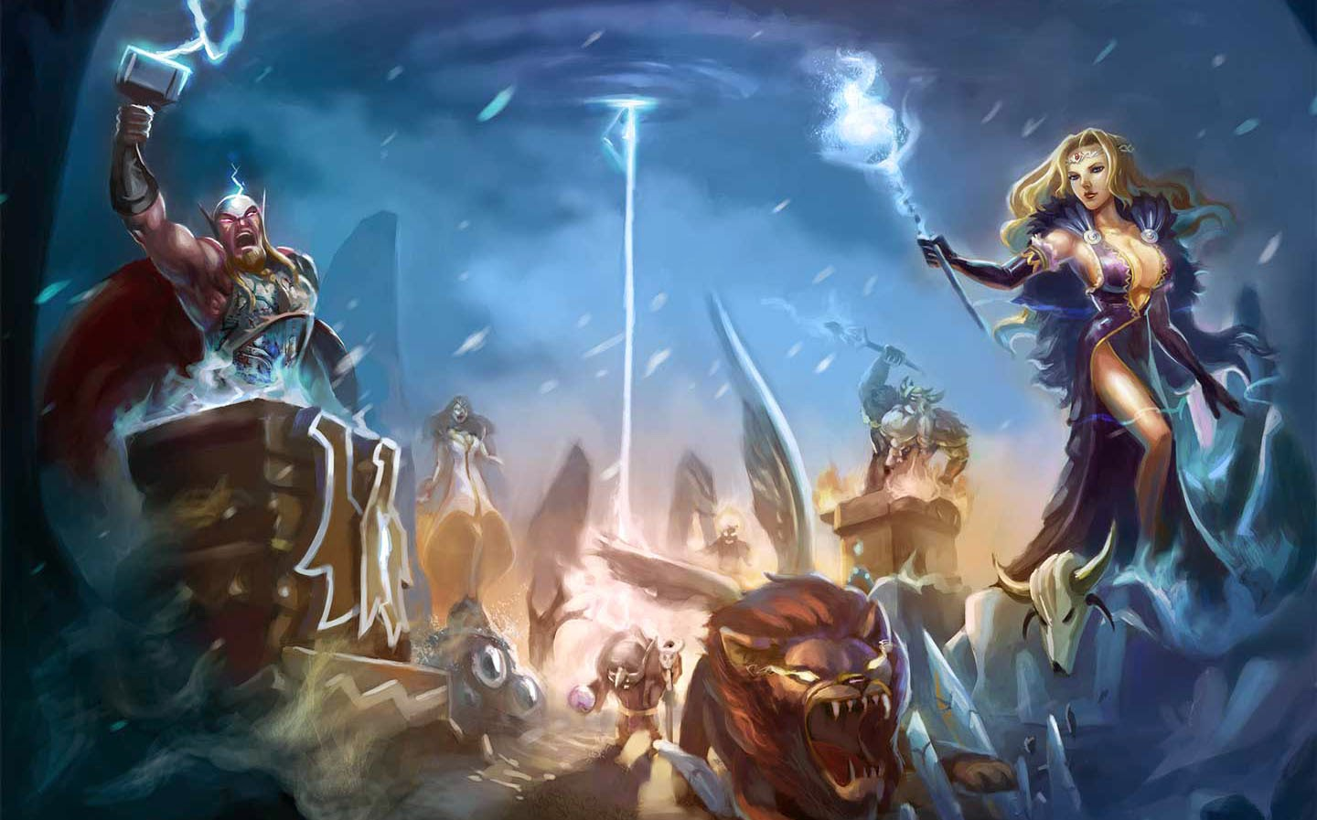 Realm of Myths: Ragnarok Gameplay IOS / Android