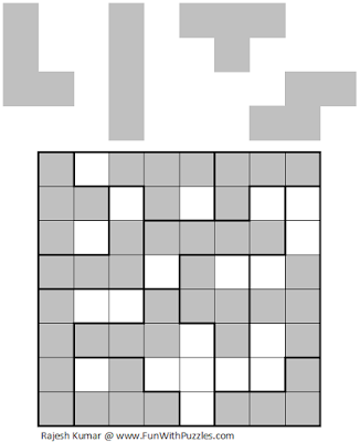 LITS (Logical Puzzles Series #4) Solution