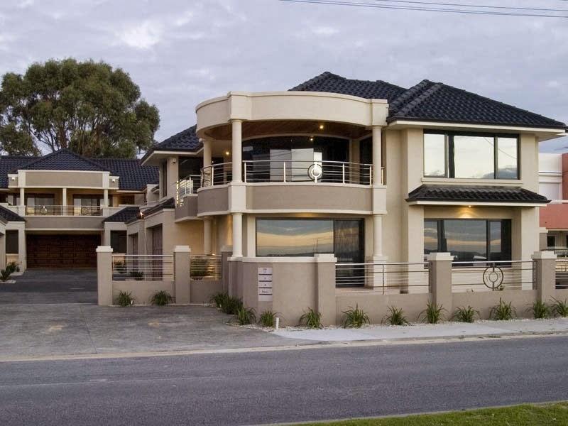 Fachadas de casas modernas fachadas de casas modernas con for Fachadas de casas de 2 pisos con balcon