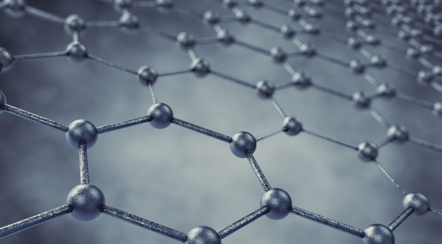 Graphene as metal hexagon things