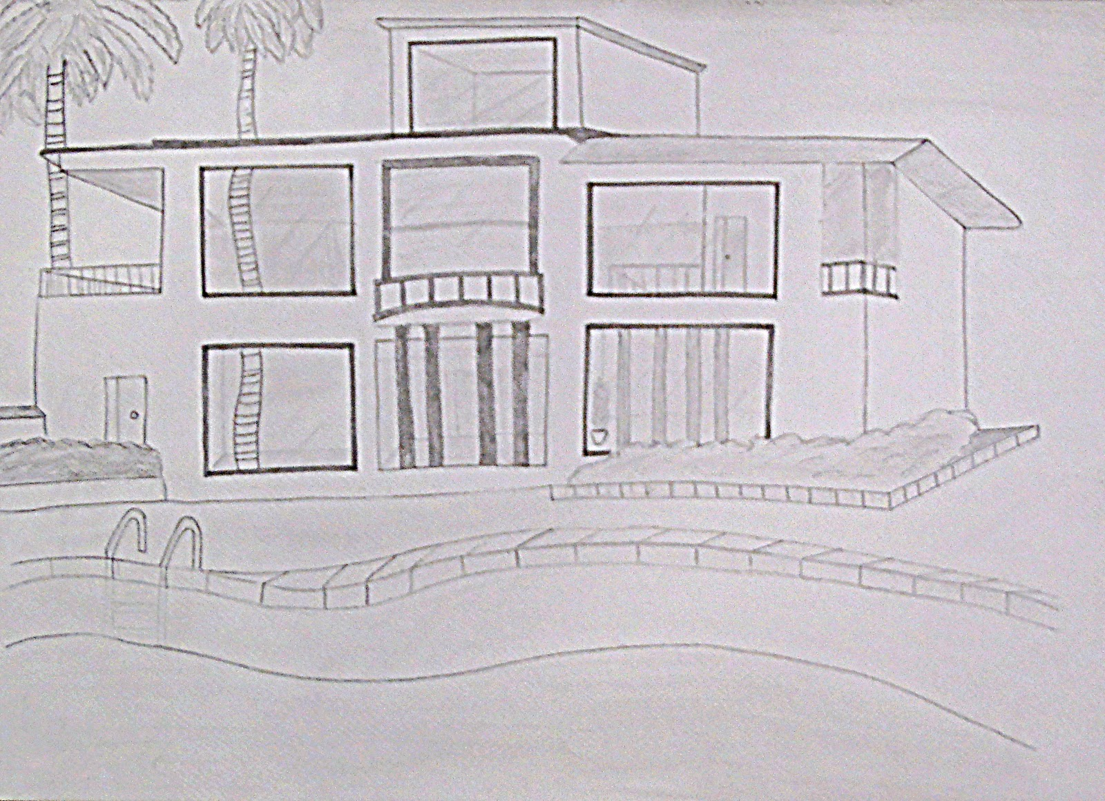 Bocetos a lapiz de casas imagui - Casas dibujadas a lapiz ...