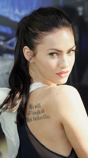 Megan Fox Tattoos