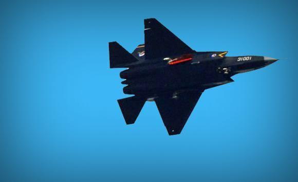 Jet tempur siluman J-31 China