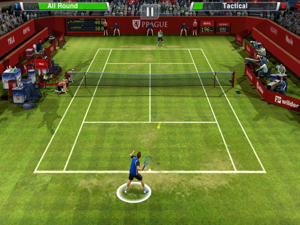 Virtua Tennis Challenge Full Apk İndir + Data