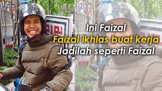 Faizal ikhlas tetapkan upah runner 'seikhlas hati'