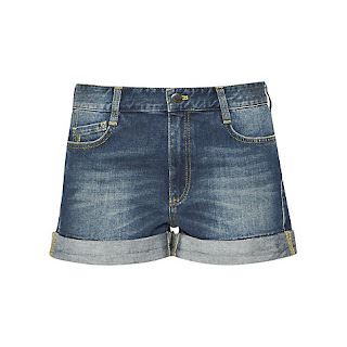 French Connection Vintage Wash Nancy Shorts