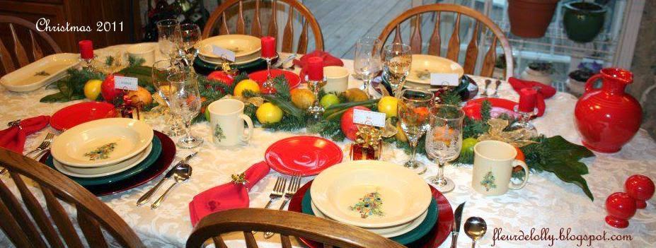 Fleur de Lolly: Fiestaware Christmas