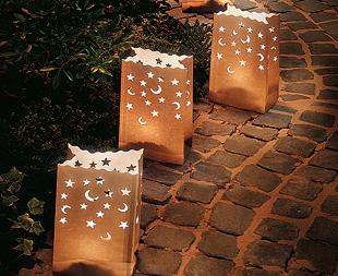 Decoraci n para fiestas iluminar el jard n for Antorchas para jardin caseras