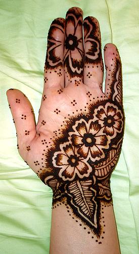 Attractive Arabic Henna Mehndi Designs For 2013-14