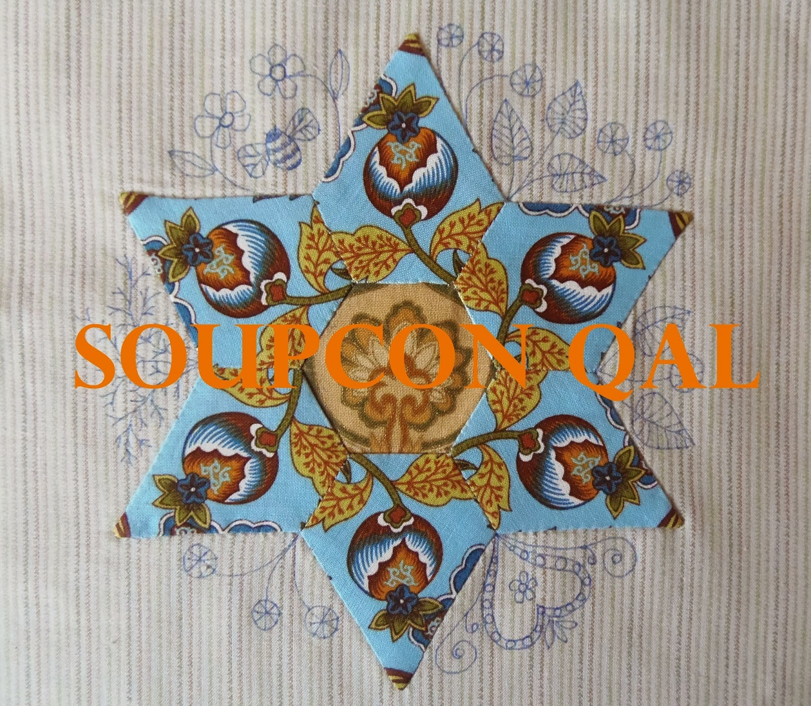 Soupçon Hexagon Quiltalong
