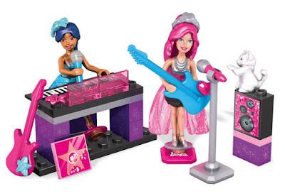 TOYS : JUGUETES - MEGA BLOKS : Barbie  Rock y Realeza Set de juego | Rock N' Royals Set  Producto Oficial 2015 | Mattel CNF75 | Piezas: 39 | Edad: +4  Comprar en Amazon España & buy Amazon USA