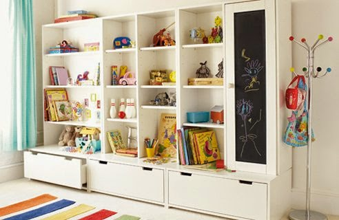 kids wall storage system designs and layout