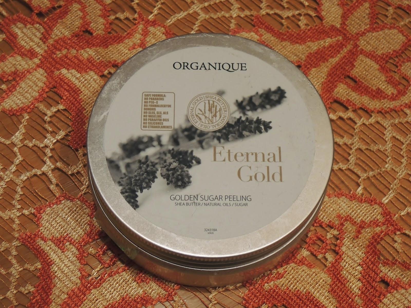 Wieczne złoto od Organique