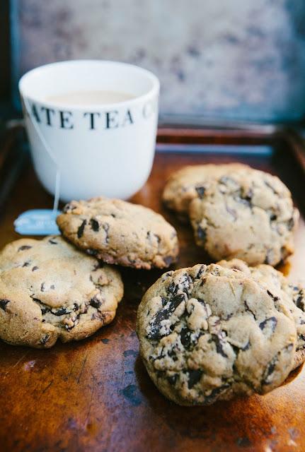 Dark Chocolate and Earl Grey Tea Cookies | hummingbird ...