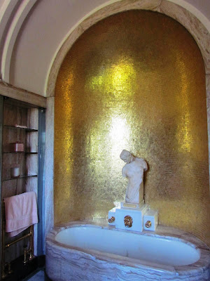 Virginia bath, Eltham Palace, bathroom, 1920s, art deco