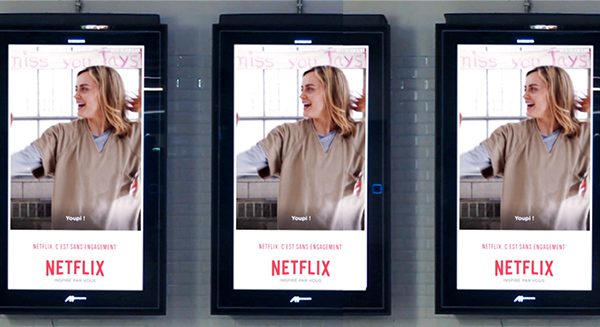 Digital Signage y Orange is the new black