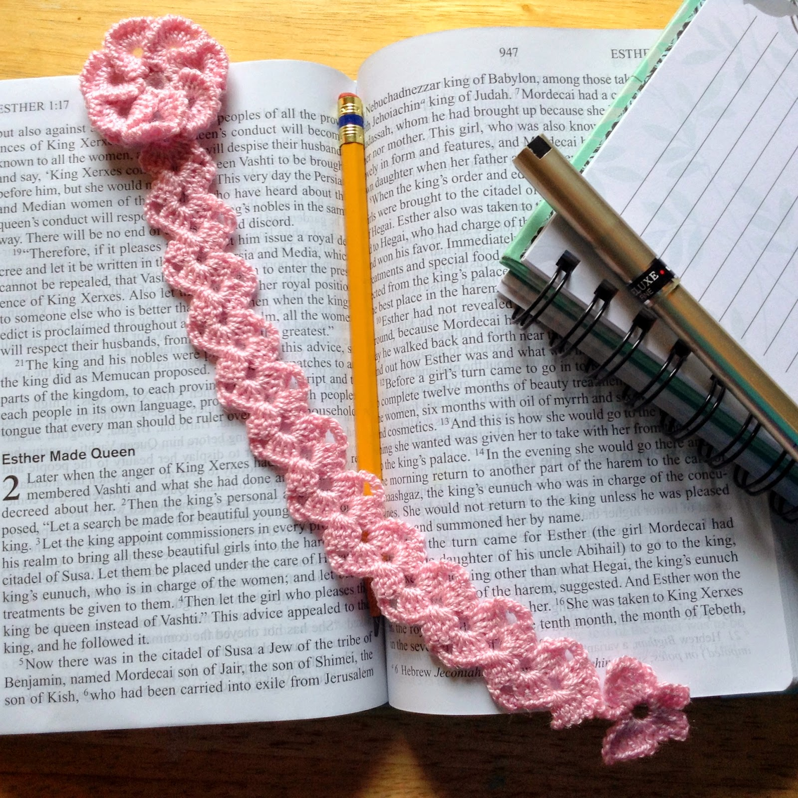 The Shtick I Do!: Butterfly Trail Bookmark with Pattern