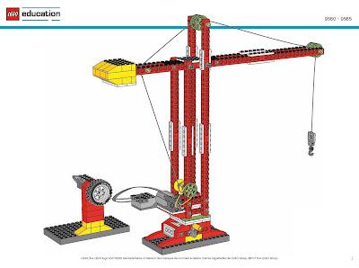 Wedo   Building Instructions For Crane