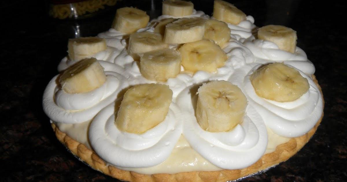Cake Boss Banana Cream Pie