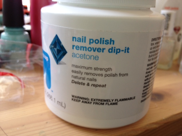 Blog : Up & Up Polish Remover Dip-it Acetone (Target Brand)