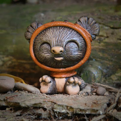 KidWok the Ewok Star Wars Resin Figure by UME Toys