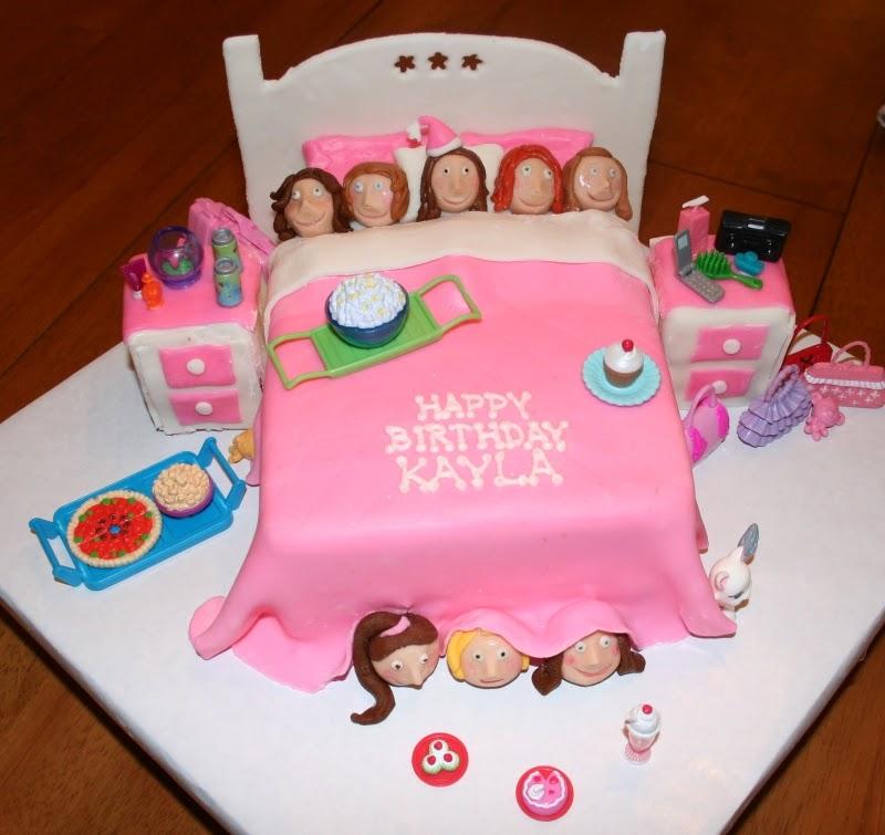 Slumber Party Cake Images : Festa do Pijama! - Penso, logo divido