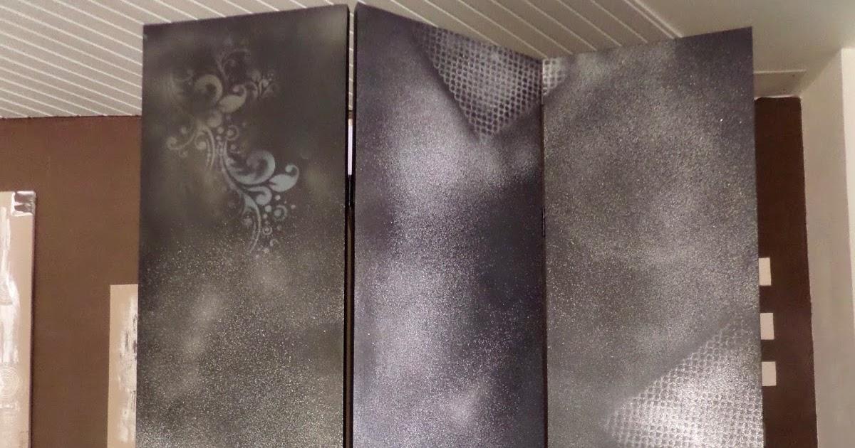 Nouveauté , Paravent Décoré Peinture Abstraite Moderne | Tableaux