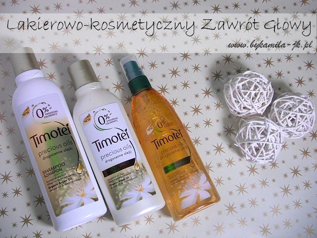Timotei Drogocenne Olejki szampon odżywka do włosów w sprayu