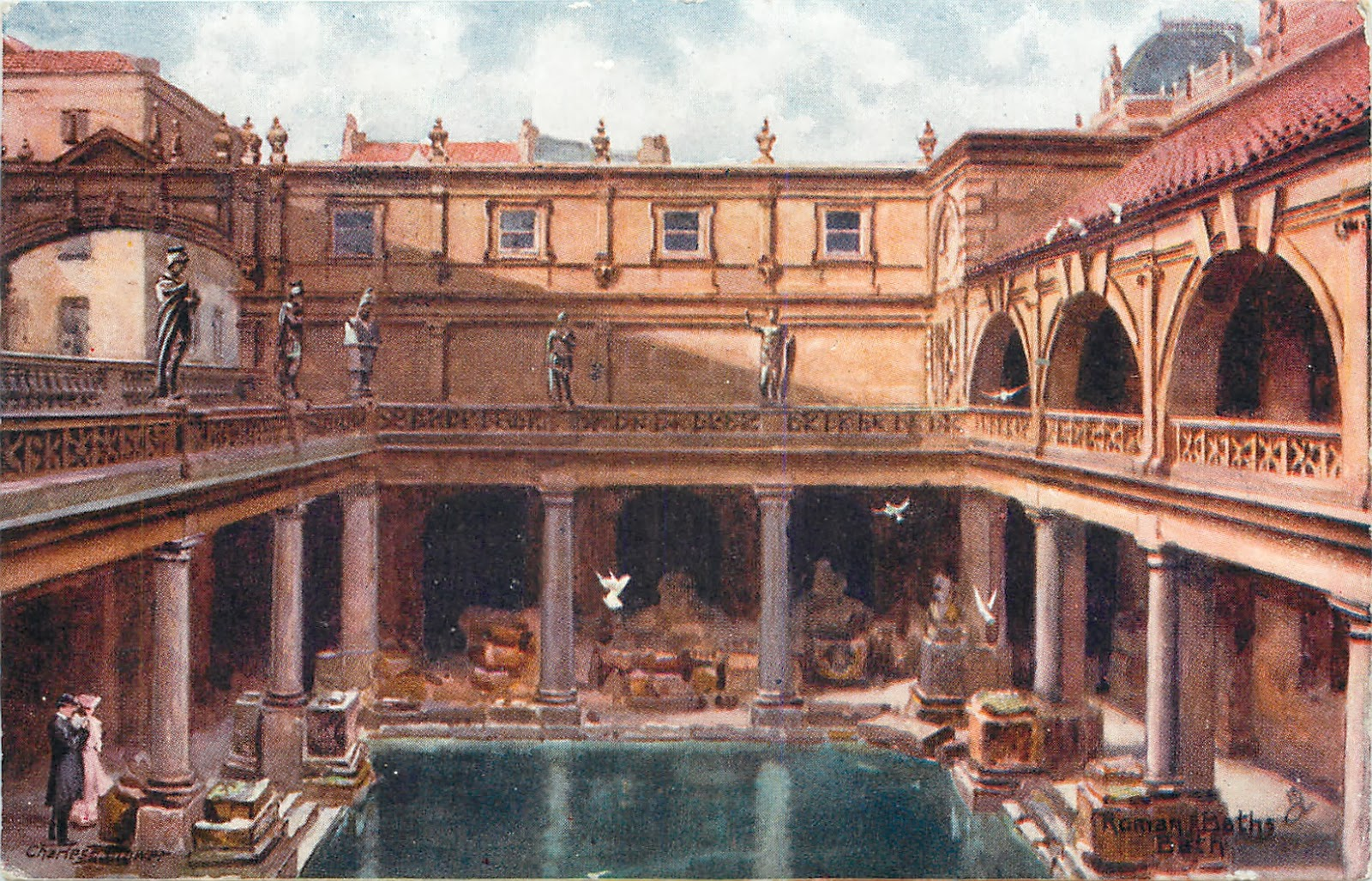 Andrew Simpson When In Bath Visit The Roman Baths I Did
