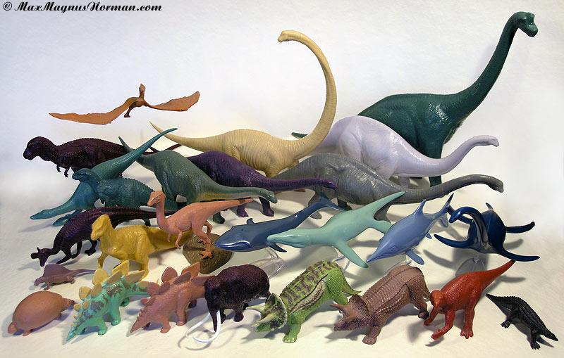 British Natural History Museum Dinosaur Figures