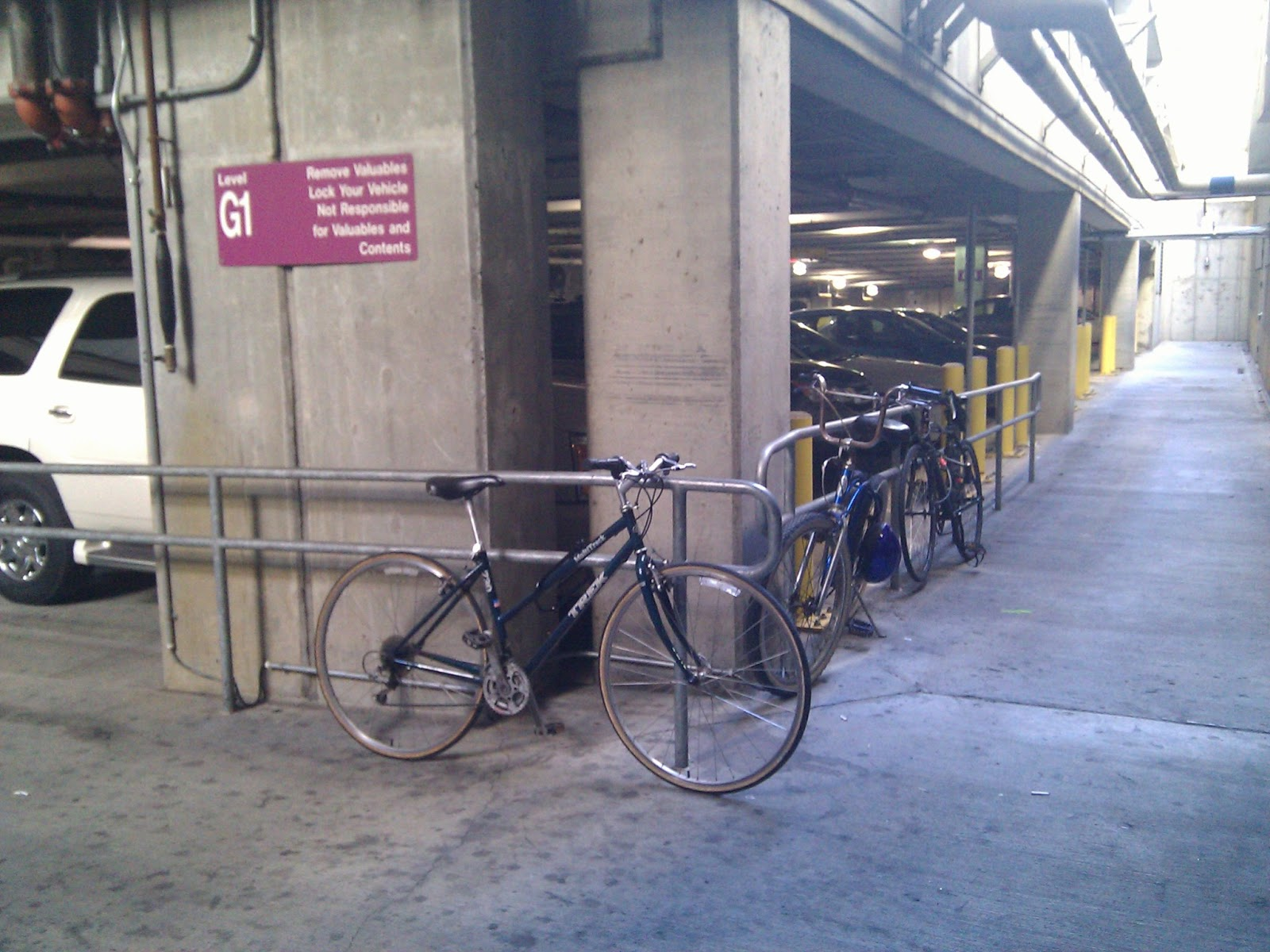 Can You Take Bikes On Dc Metro Informal bicycle parking area