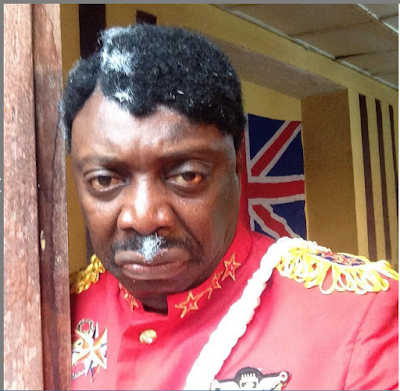 Segun Arinze in JAJA The Great Nollywood movie