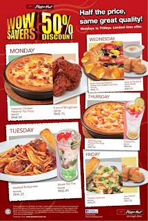 Nak makan murah Pizza Hut kena teknik yang betul