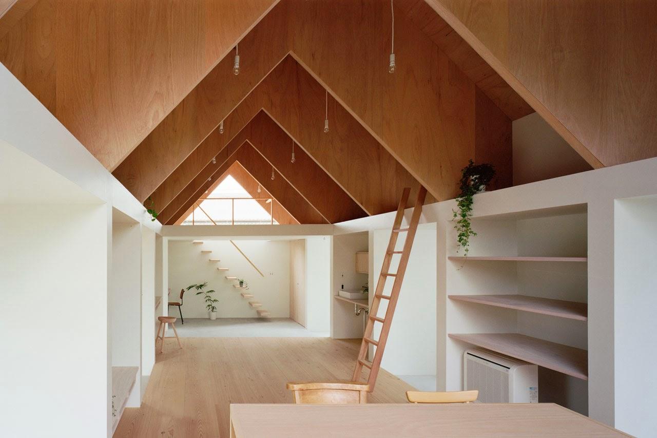 Wohnen in Minimalismus in Einraum Haus Konzept - perfekt zum modernen Lebensstil!